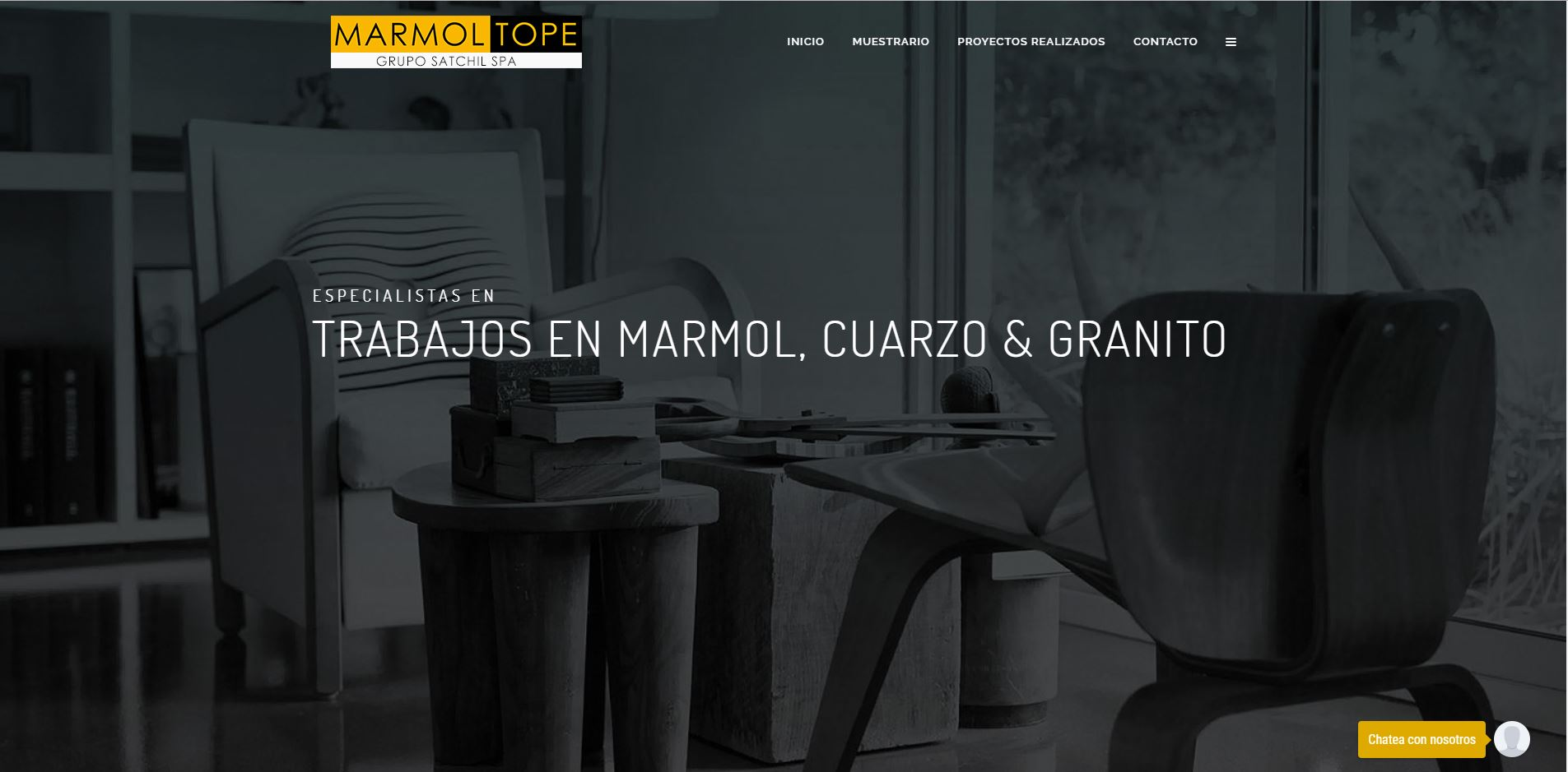 Marmoltope.cl Proceso 1 - Tiweb - Pagina Web Autoadministrable - Posicionamiento Web